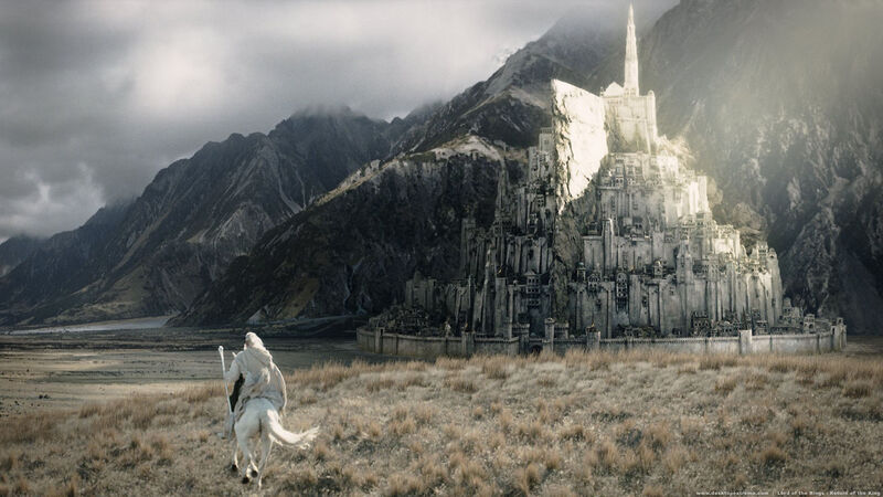 Peter Jackson's portrayal of Minas Tirith