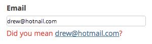 Mailcheck WordPress plugin styled
