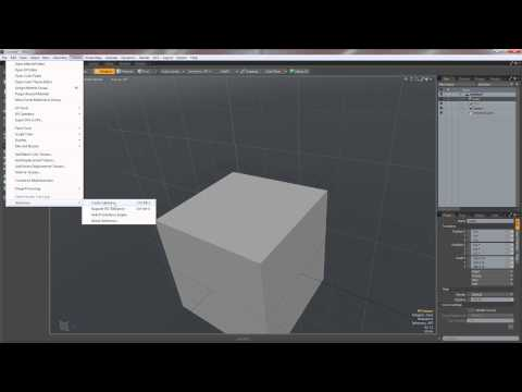 Using Asphalt Substance in Modo 801