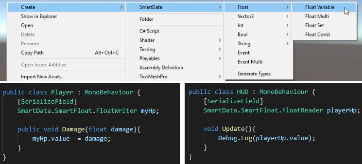 GitHub - sigtrapgames/SmartData: A designer-friendly, editor