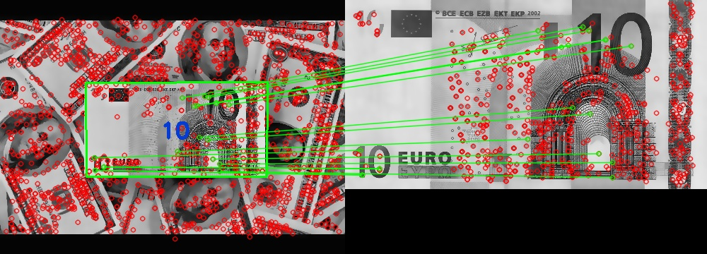 GitHub - carlosmccosta/Currency-Recognition: Augmented reality