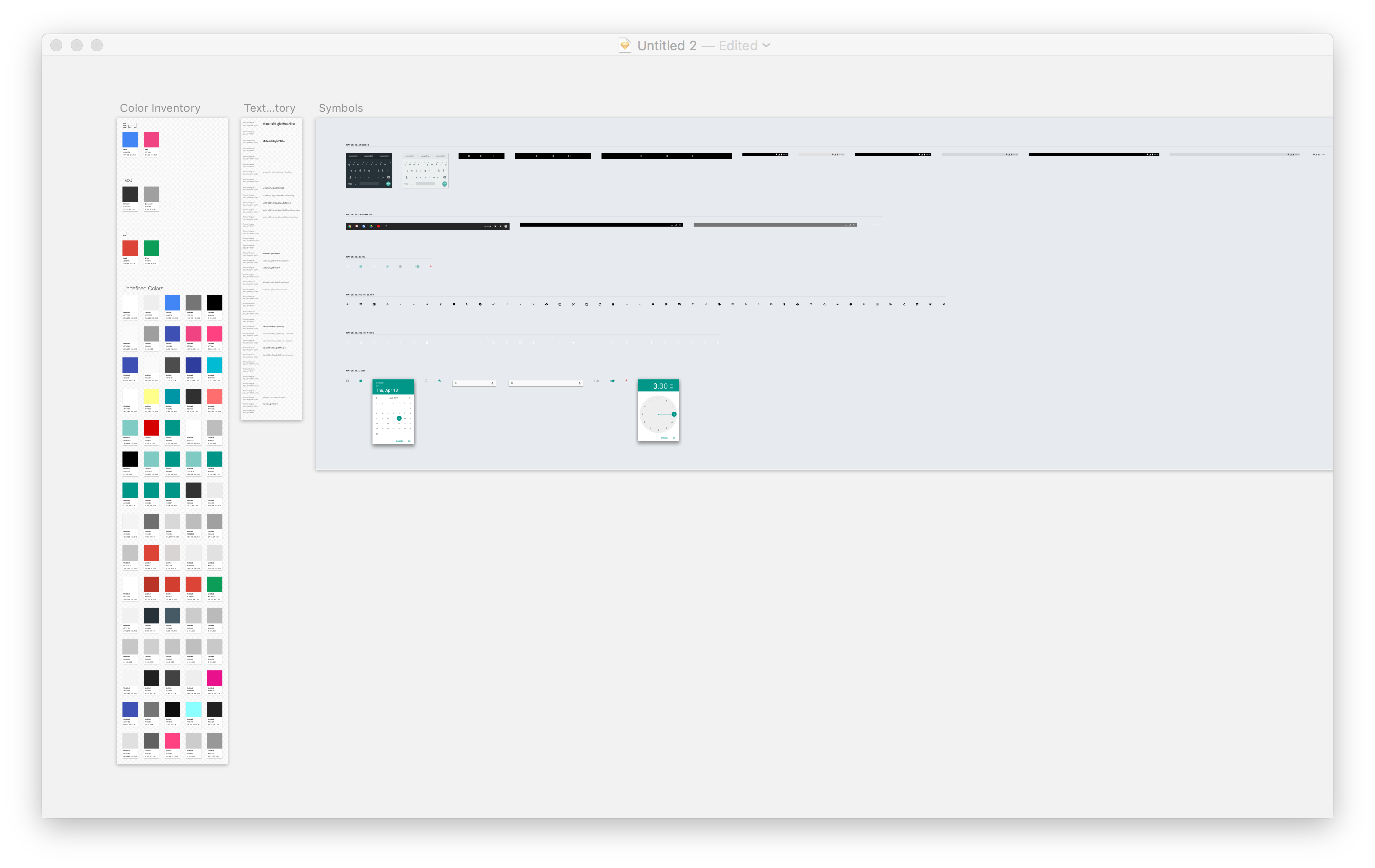 GitHub - getflourish/Sketch-Style-Inventory: Review, import