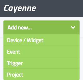 myDevices Cayenne Integration
