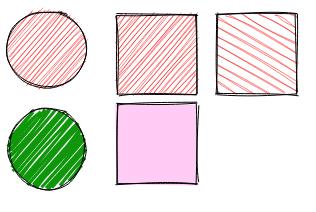 Rough.js rectangle