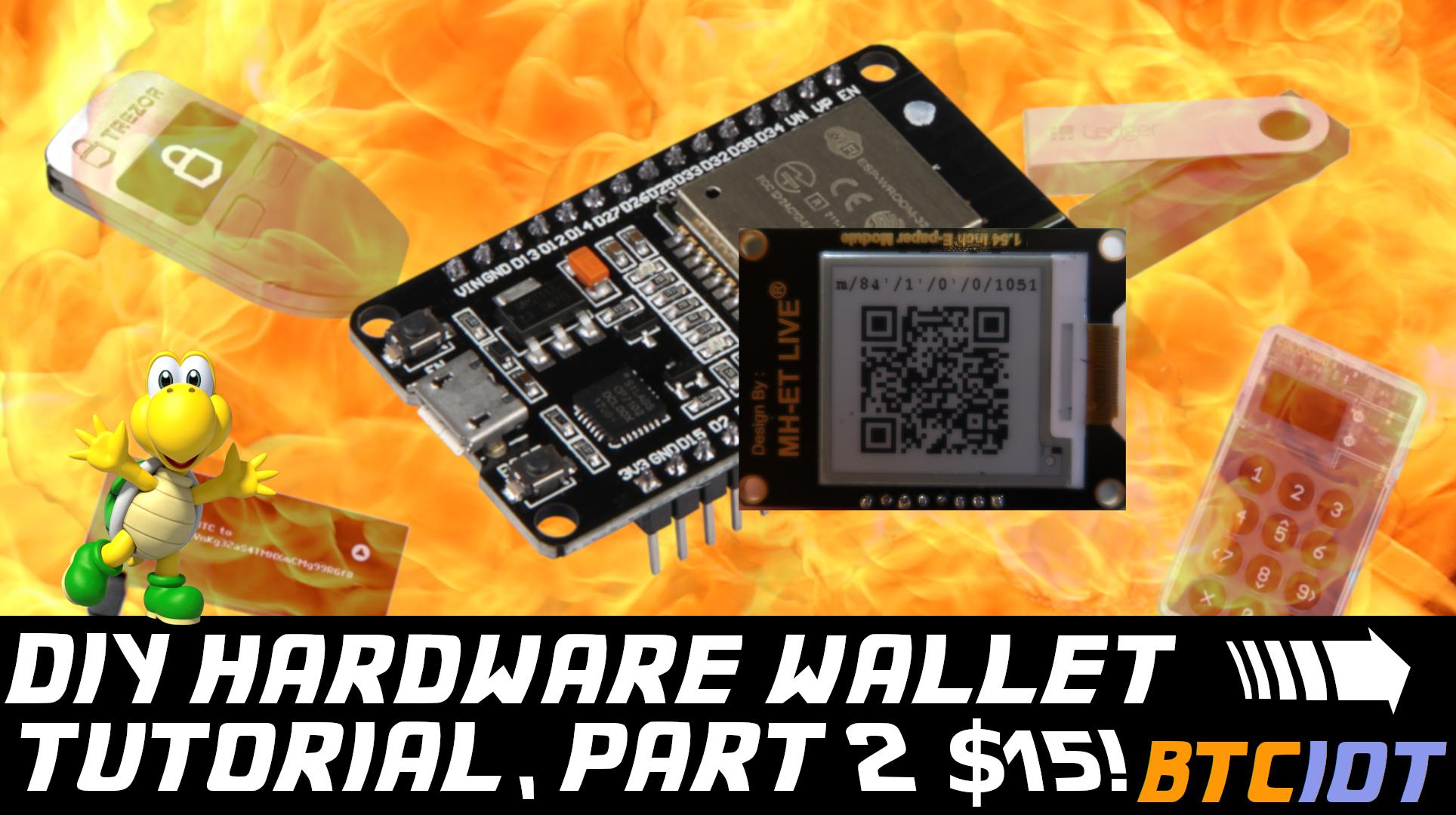 ESP32 hardware wallet