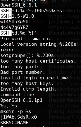 rootkit strings