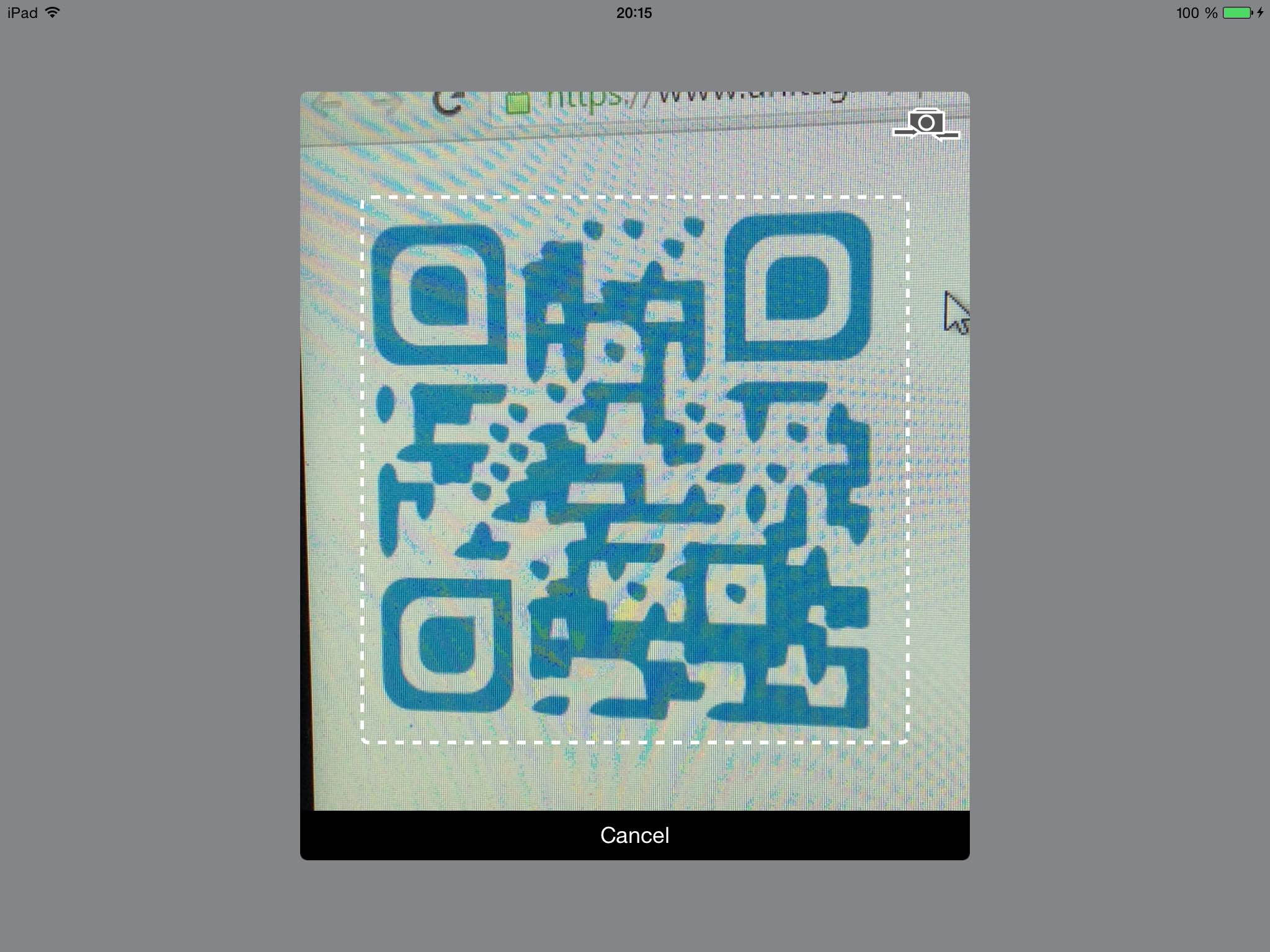 QRCodeReader.swift screenshot