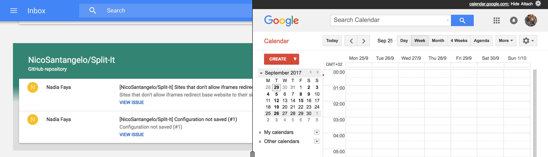 GitHub - nicosantangelo/Split-It: Chrome Extension to add any site