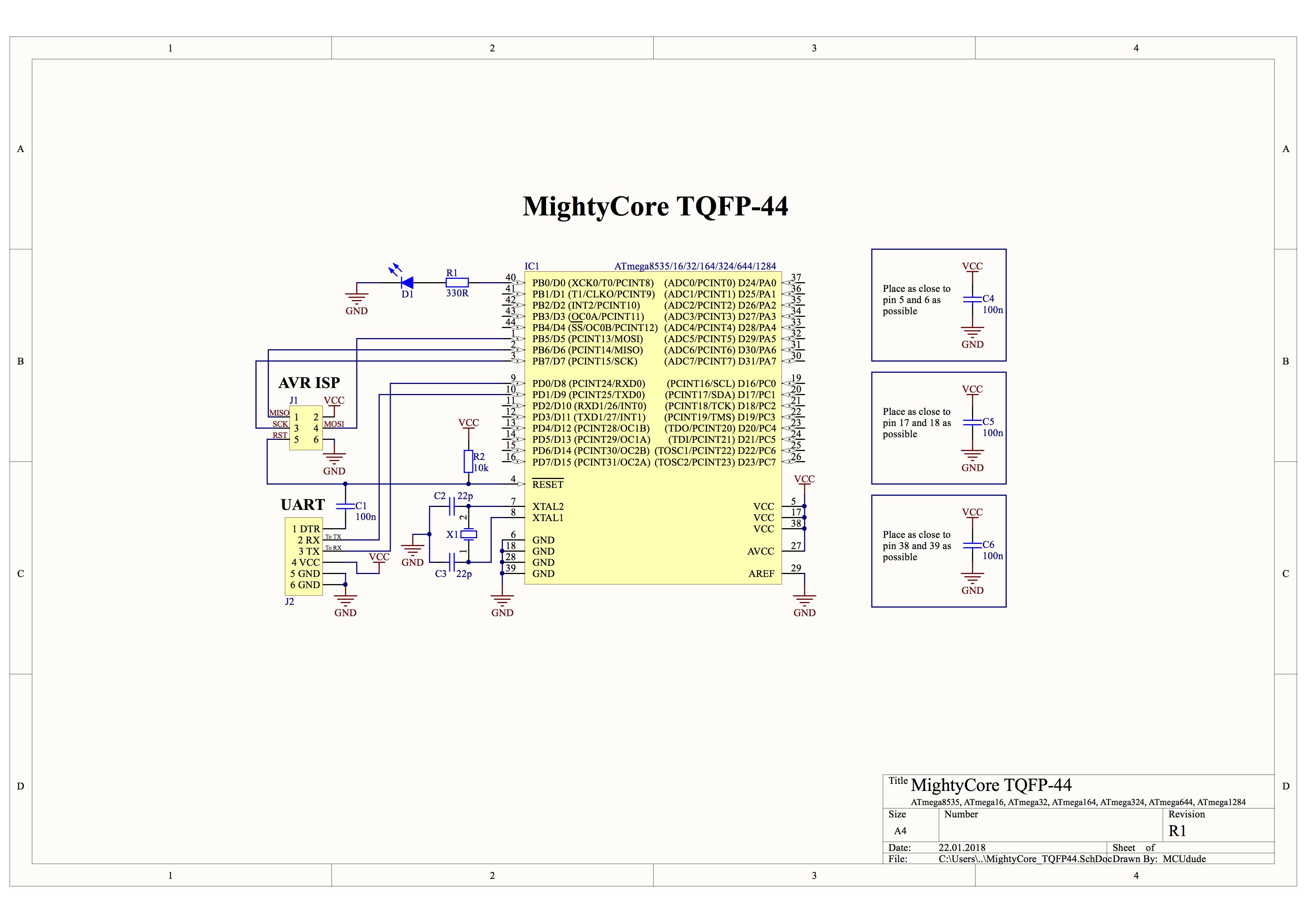 Github Mcudude Mightycore Arduino Hardware Package For Atmega1284 Atmel Usb Programmer Circuit Zif Socket Usbasp Atmega8 3 Dip 40 Tqfp 44 Smd Atmega324pb