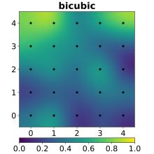 Bicubic Spline Interpolation - Courtesy of Wikipedia
