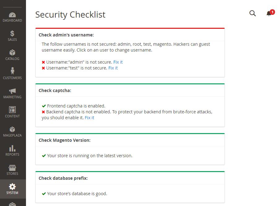 Magento 2 Security Checklist