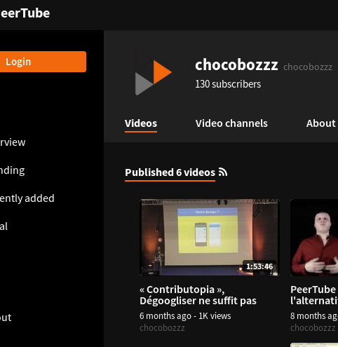 GitHub - Chocobozzz/PeerTube: ...