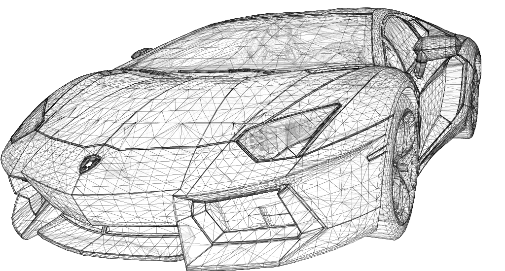 3d Line Drawing : Github rm hull wireframes a lightweight d graphics