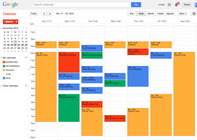 Google Calendar Planner View : Timeline visualization · issue wix react native