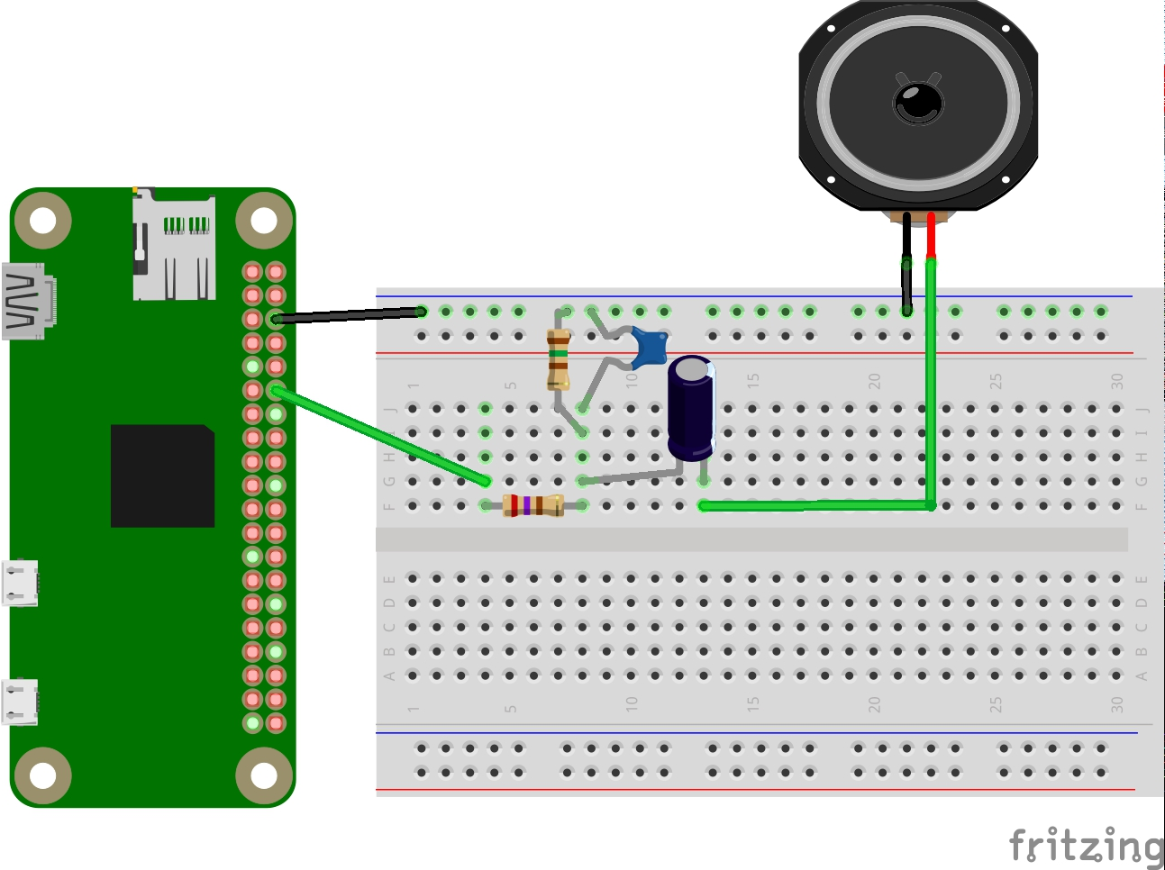4 Enable Audio Via Pwm Fgebhart Smart Alarm Wiki Github Low Pass Filter Circuit Together With A Small We Are Able To Generate Basic Output Consider The Following Schematic Diagram For Wiring Of