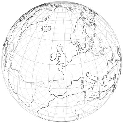 GitHub mmcloughlinglobe Globe wireframe visualizations in Golang