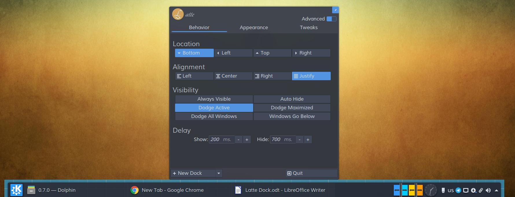 GitHub - KDE/latte-dock: Replacement dock for Plasma