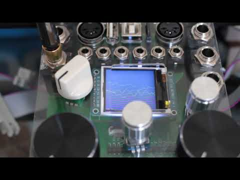 youtube: Eurorack digital audio modules powered by teensy micro-controller