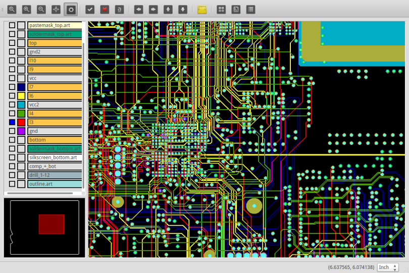 GitHub - aitjcize/QCamber: Free and open source PCB design viewer ...