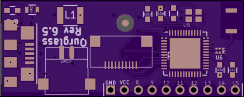 Board top from OSHPark