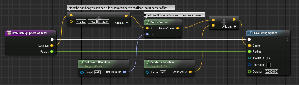 Github getnamoleap ue4 leap motion plugin for unreal engine 4 result malvernweather