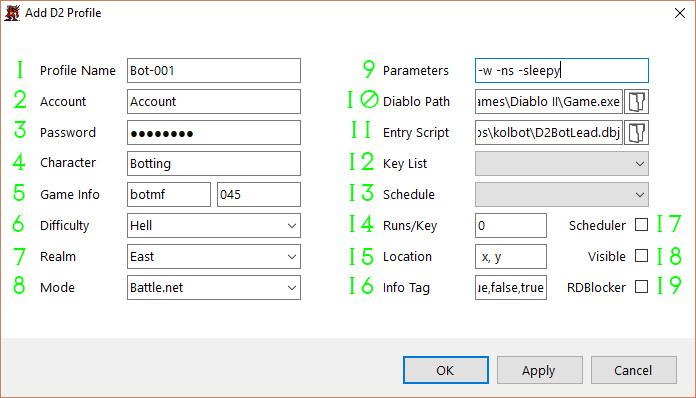D2Bot # Manager Setup · kolton/d2bot-with-kolbot Wiki · GitHub