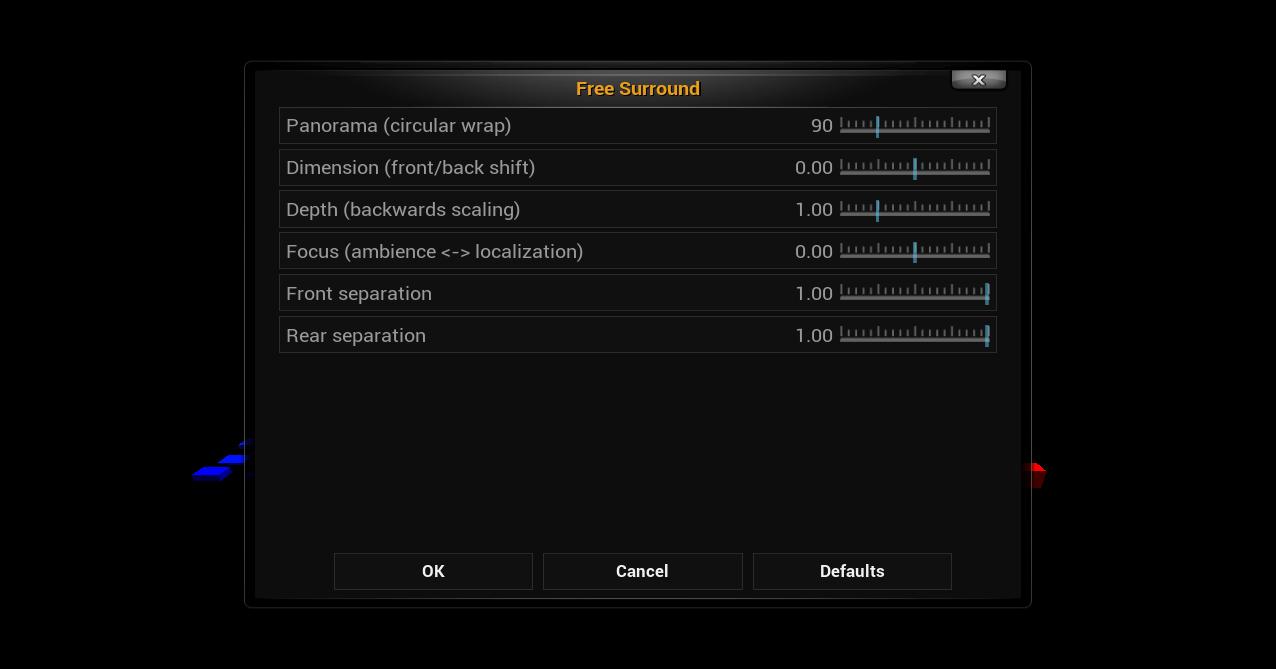 audiodsp - addon setting