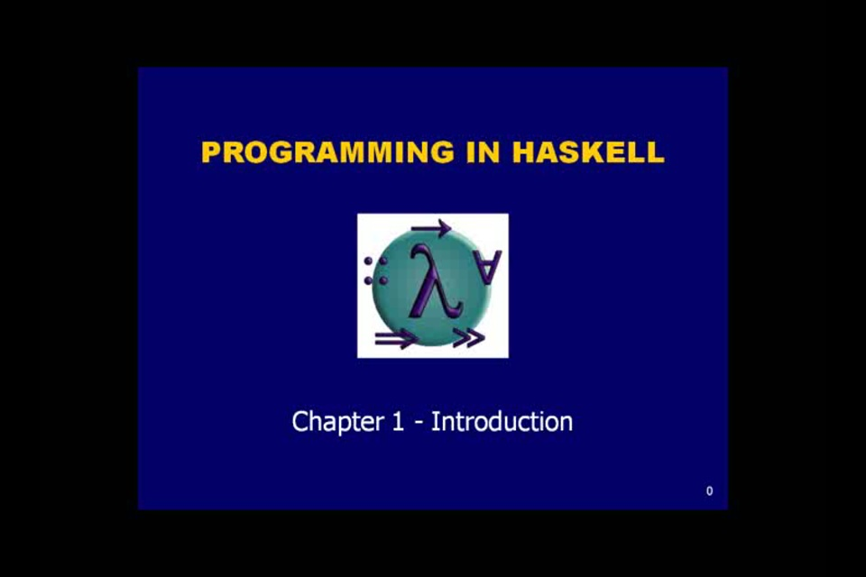 Haskell must watch