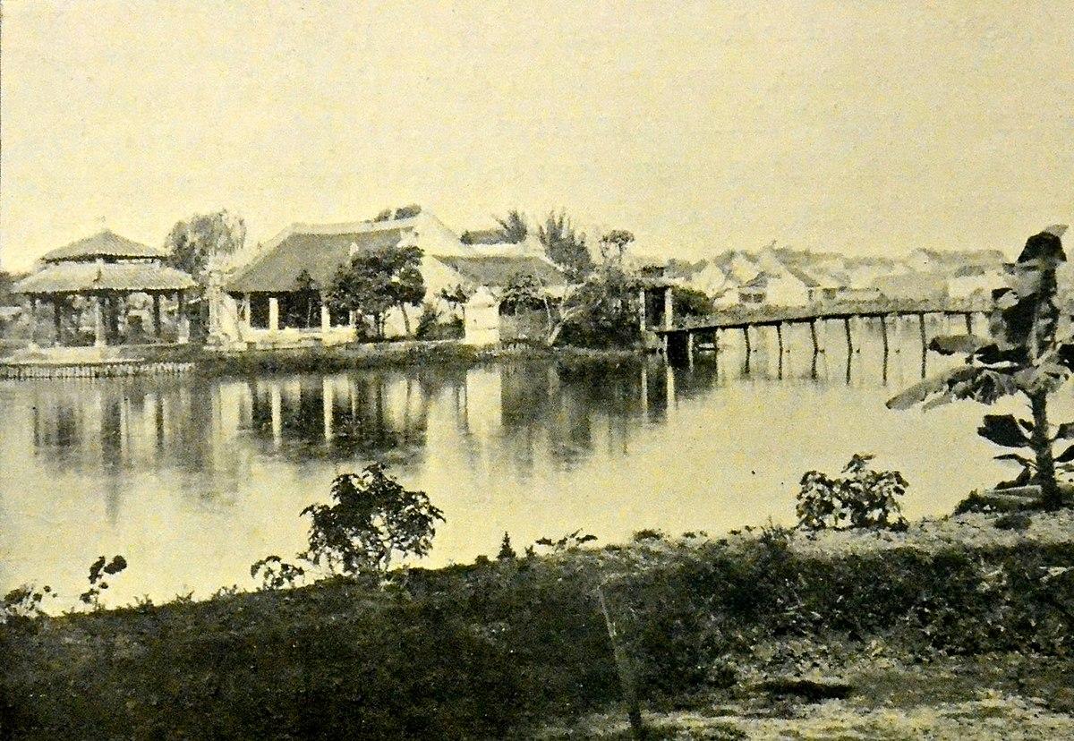 Vue du Petit Lac de hanoi