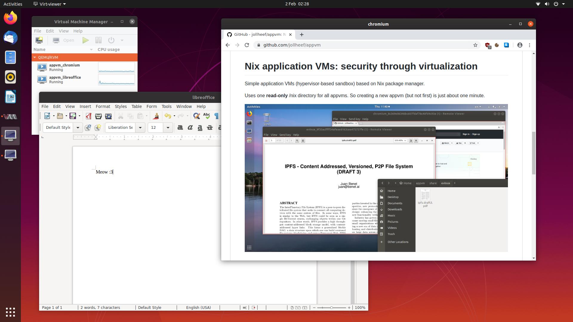 appvm screenshot