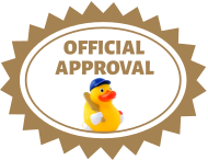 This repository has an official duck seal of approval