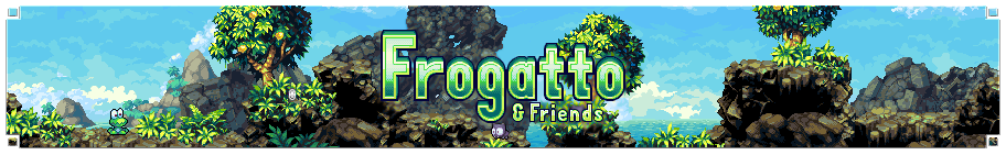 Frogatto Banner Image