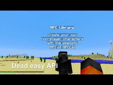 GitHub - JitseB/NPCLib: (Minecraft) NPCLib – Basic non-player