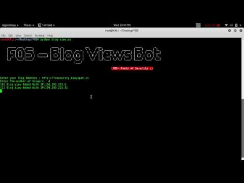 GitHub - umarfarook882/Blog-Views-Bot: To increase blog user view