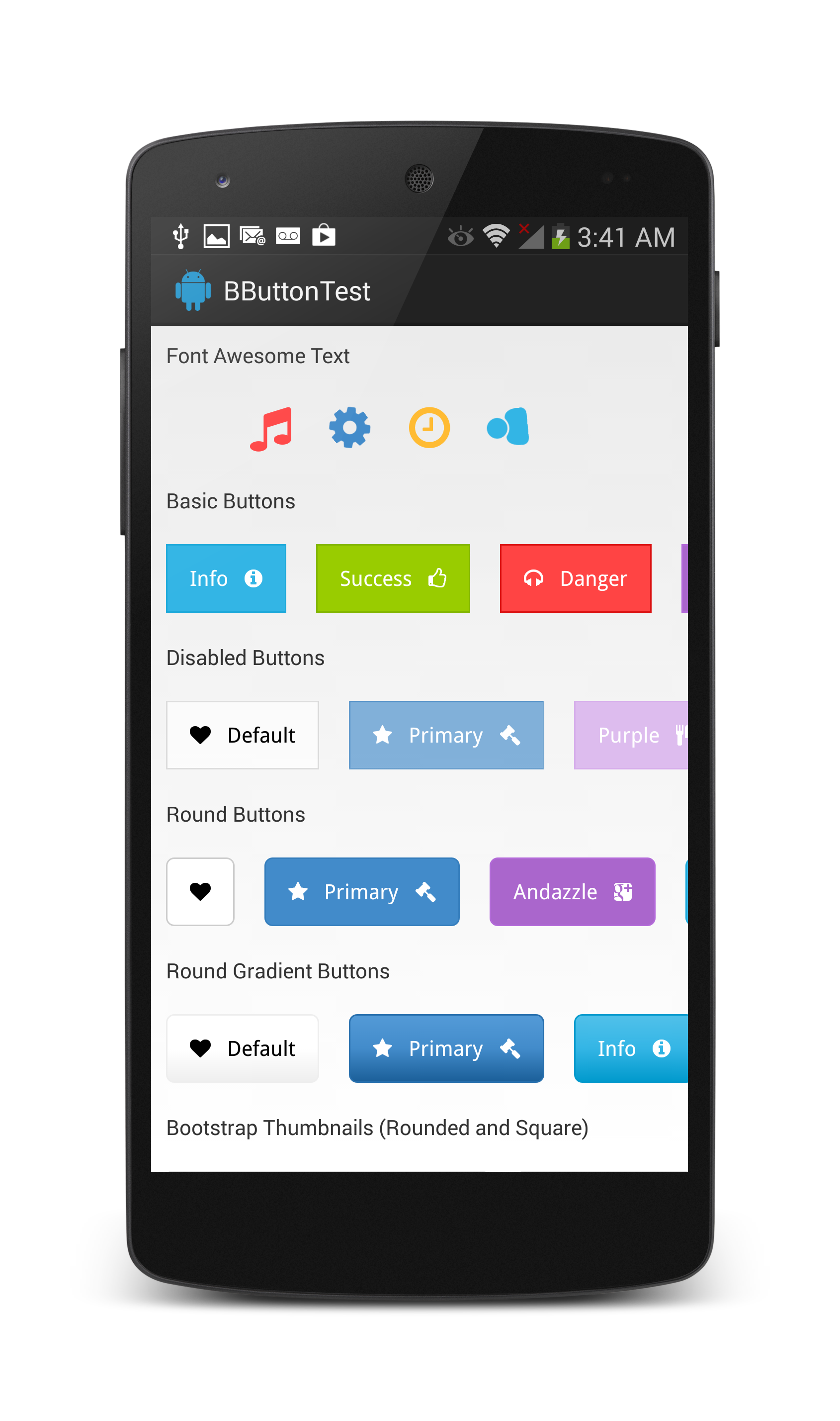 theDazzler/Android-Bootstrap - Libraries io