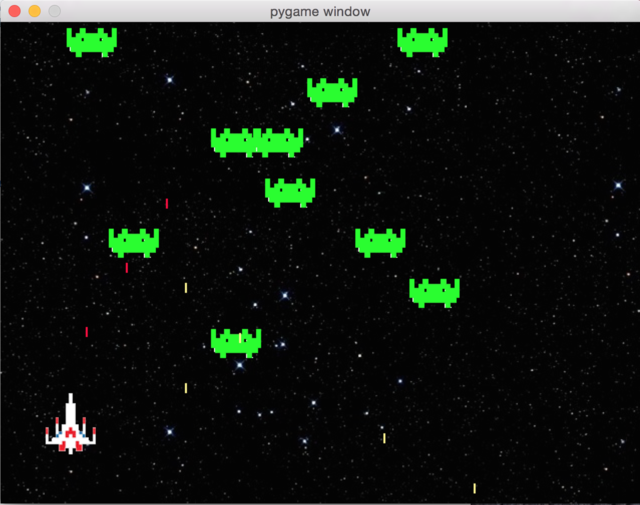 GitHub - AhanM/Space-Invaders: A Basic Varient of Space Invaders