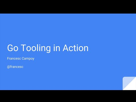 Go Tooling in Action