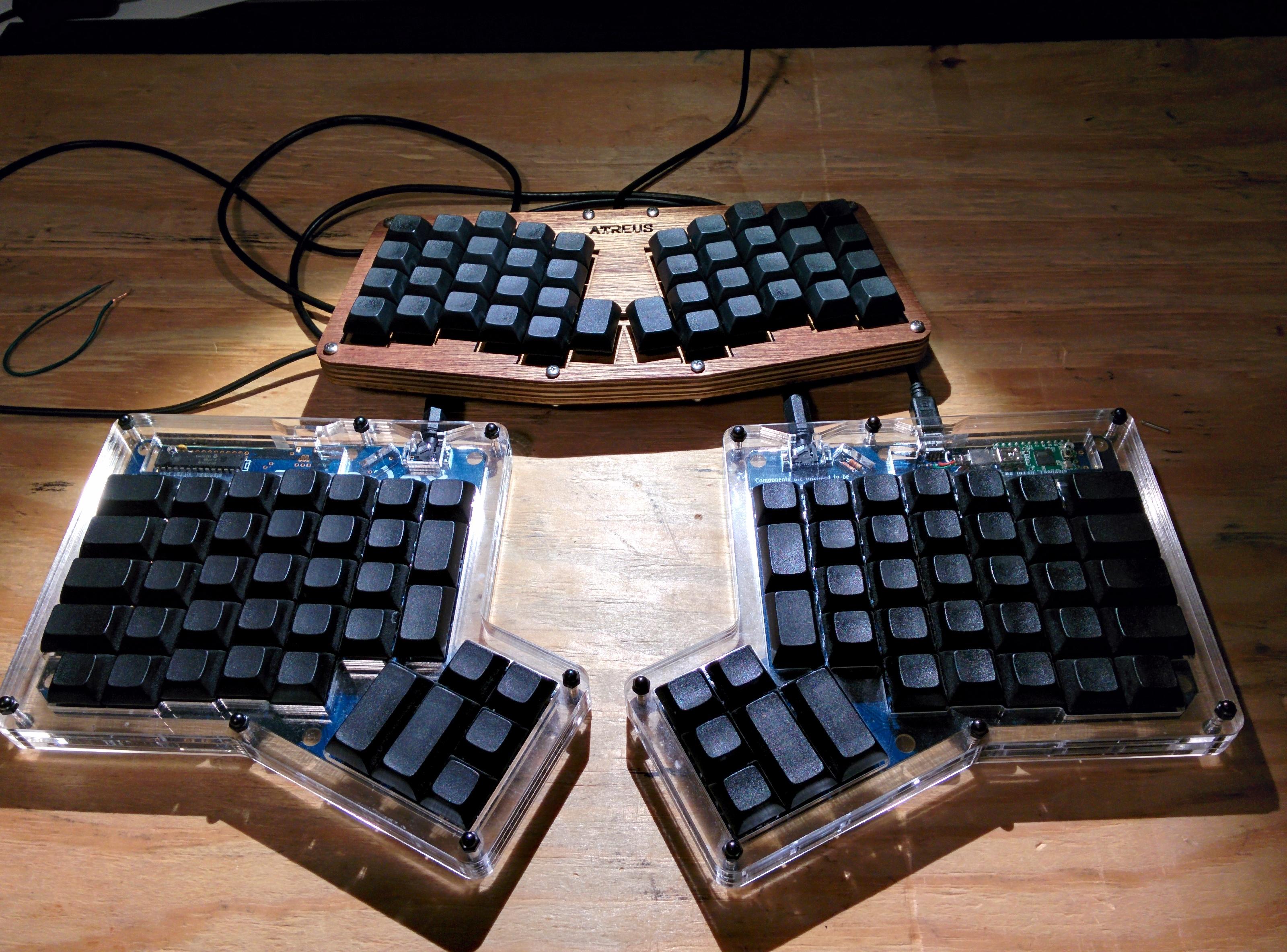 Atreus and ErgoDox custom keyboards