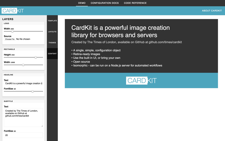generator-cardkit/TUTORIAL md at master · times/generator-cardkit