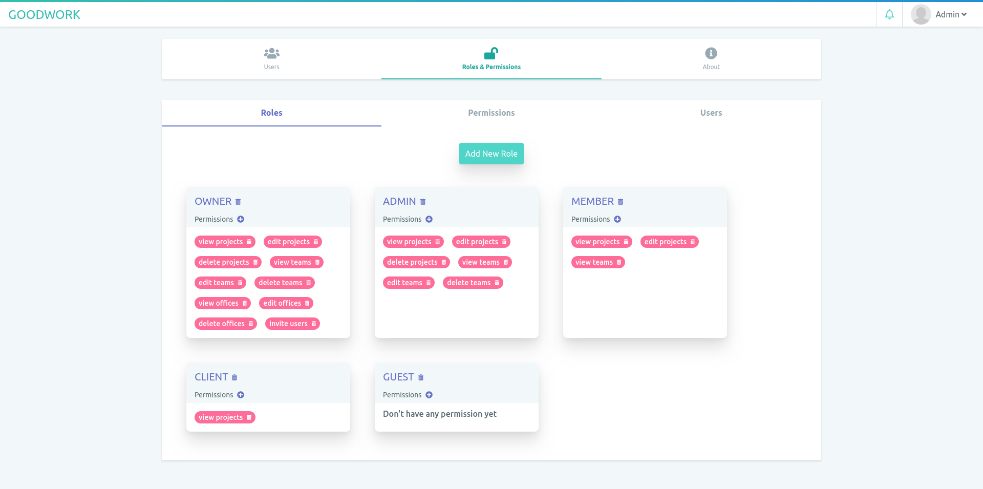 Github Iluminar Goodwork Self Hosted Project Management