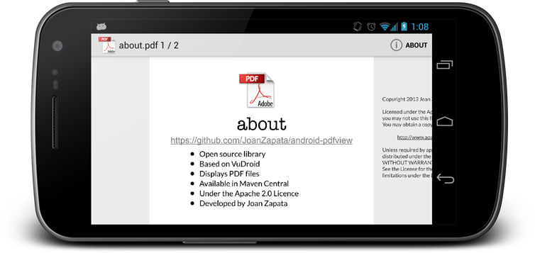For adobe android creator pdf