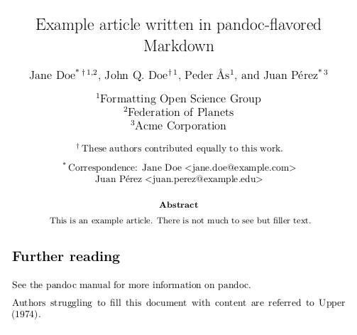 example article screenshot