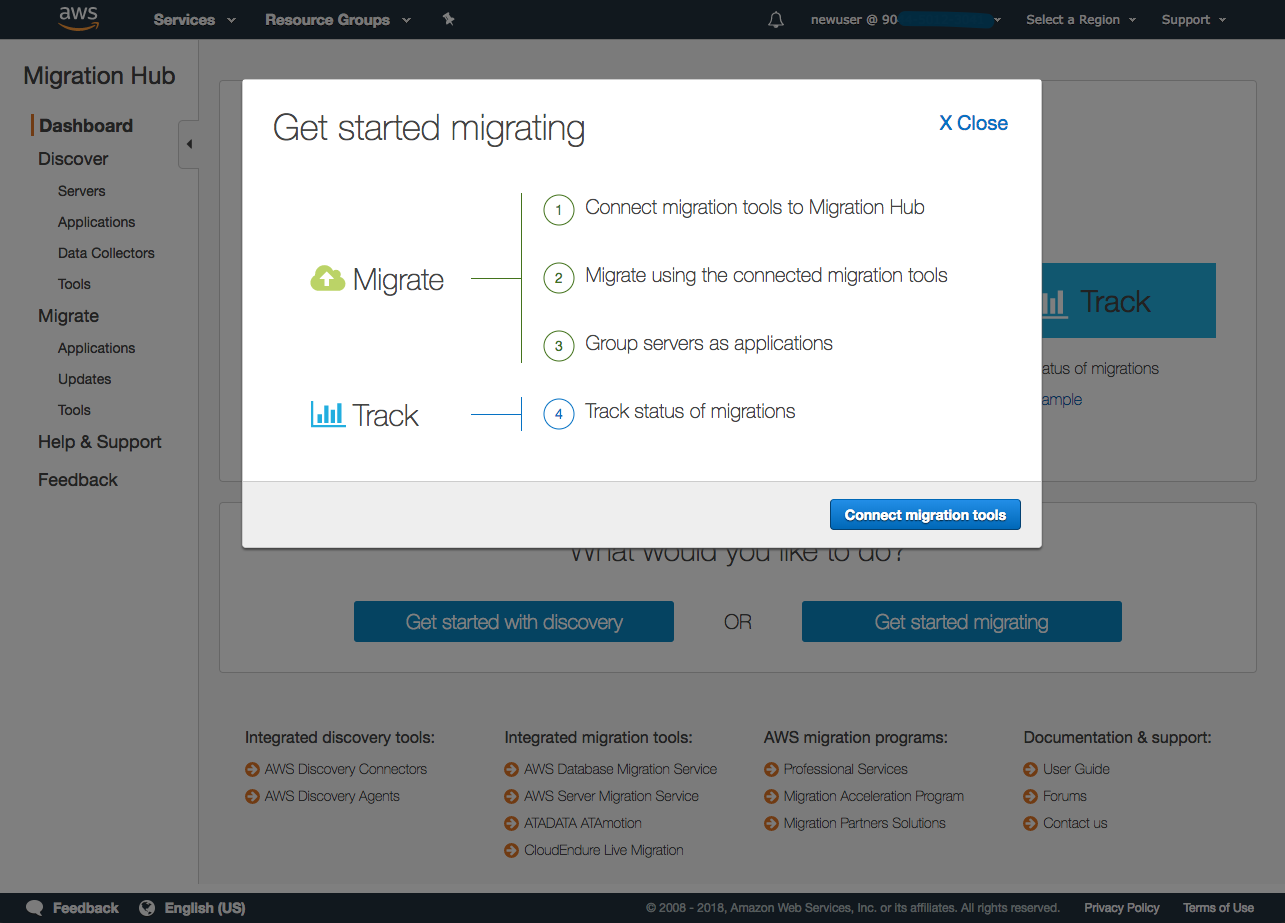 amazon-migrationhub-user-guide/gs-new-user-migration md at