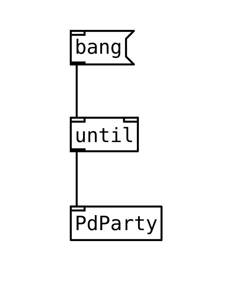 bang until PdParty