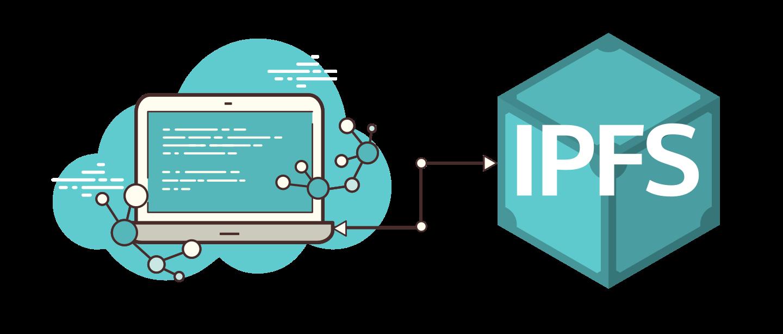 IPFS HTTP client LITE logo