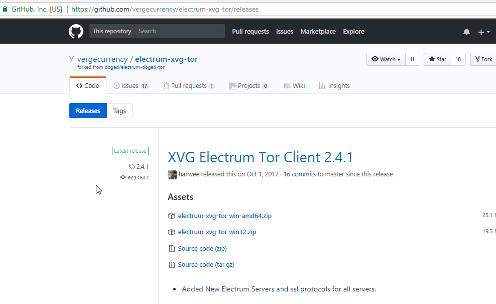 Tor] Electrum XVG Beginner's Guide – Verge Wiki