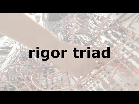 rigor triad on youtube