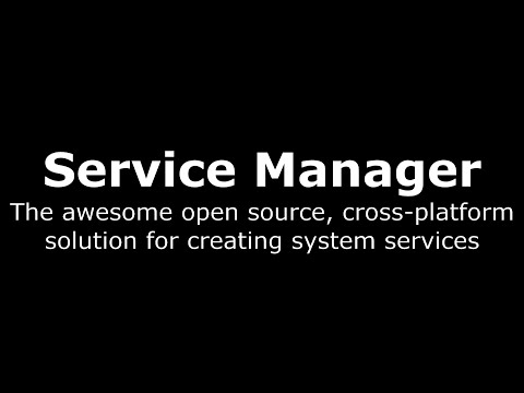 Click to watch:  Introduction to Service Manager