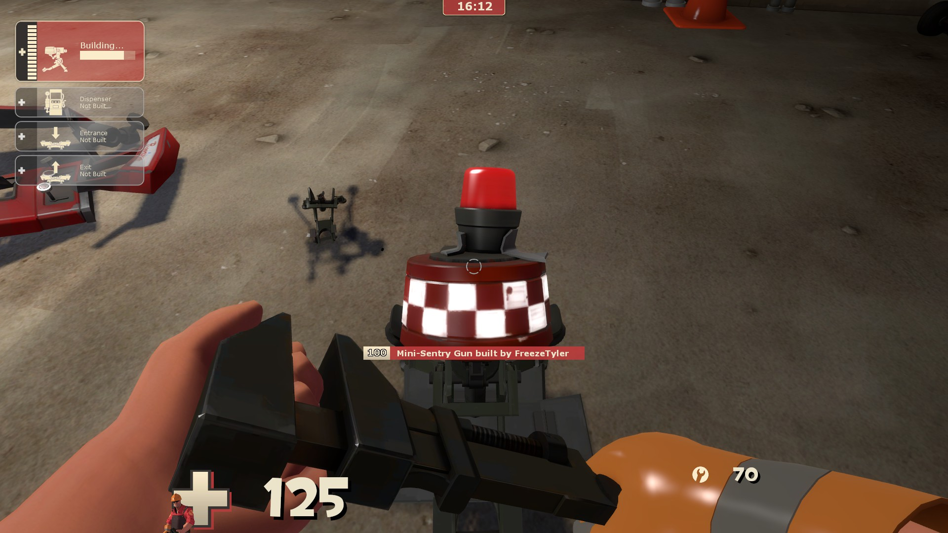 TF2]Use any wrench with Mini-Sentry · Issue #896 · ValveSoftware