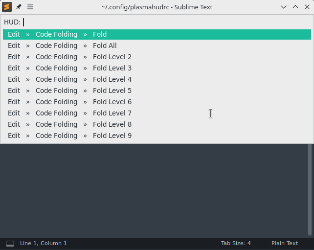 GitHub - Zren/plasma-hud: Provides a way to run menubar